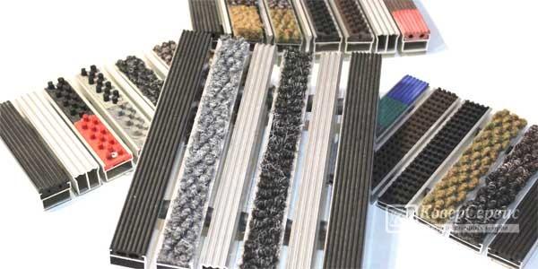Продажа алюминиевых грязезащитных решеток