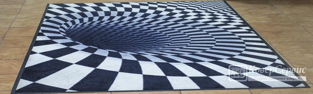 3D грязезащитные ковры
